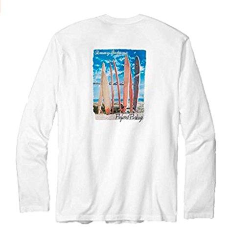 Tommy Bahama Preferred Standlicht XX-small weiß Lange Ärmel T-Shirt -