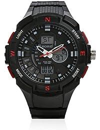 Horo (Imported) Analog-Digital Water Resistant Wrist watch (Japan Battery)18 months Warranty 28x75 28x125MM