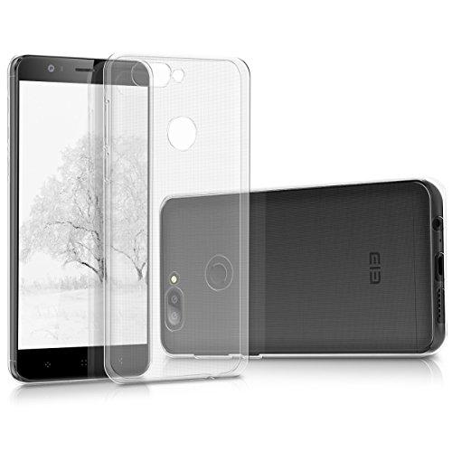 Foto kwmobile Elephone P8 Mini Cover - Custodia per Elephone P8 Mini in Silicone TPU - Back Case Protezione Posteriore Trasparente