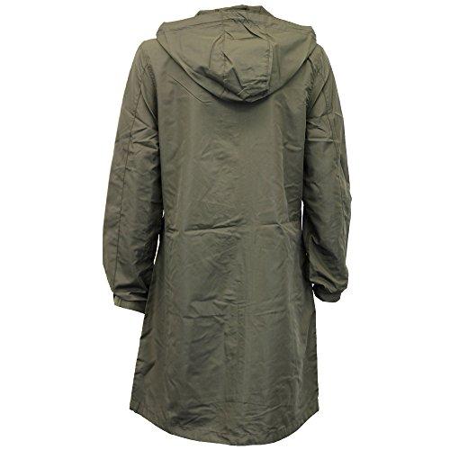 Damen Kagool Jacke Brave Soul Damen Lang Mantel Mit Kapuze Leicht Sommer Neu khaki - Raver