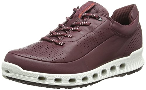 Ecco Damen Cool 2.0 Sneaker, Rot (Wine Dritton 1278), 37 EU