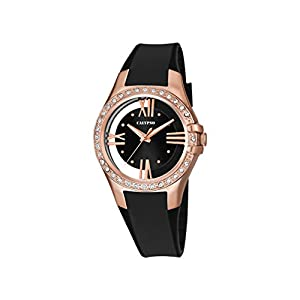 Reloj de Pulsera de Cuarzo K5680/4 de Calypso, con Esfera analógica Negra