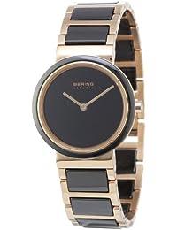 Bering Time Damen-Armbanduhr Ceramic Analog Quarz 10729-746