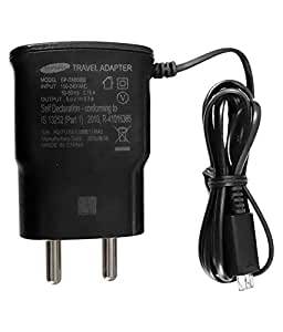 Click Cases Original Samsung AC Power Travel Charger Adapter with Micro USB Cable For Samsung Galaxy S4 Active - Black