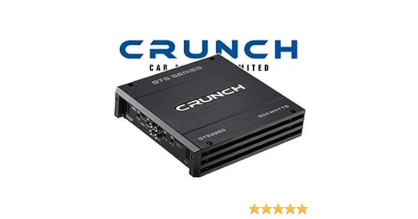 Crunch Gts2250 2 Kanal Endstufe Mit 2x 250 Watt Max Navigation