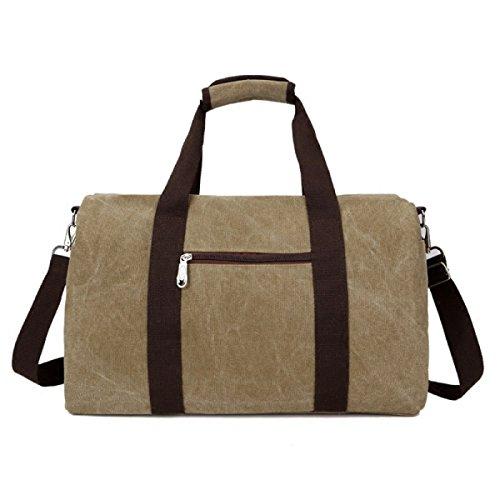LAIDAYE Leinwand In über Weekender Bag Reise Machen Sie Weiter Tragetaschen Wochenende Übernachtung Reisetasche Unisex Reisetasche Handtasche Mit Green