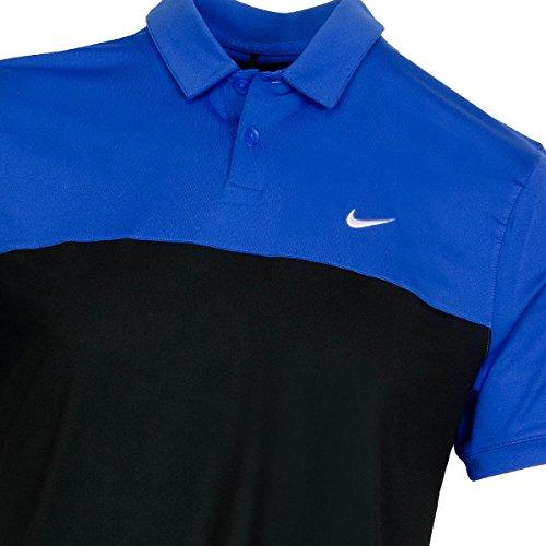 Nike Icon Color Block Polo Game Royal/Black/White