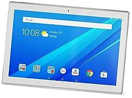 """Lenovo TAB4 10 - Tablet DE 10.1"""" HD (Qualcomm Snapdragon 425, 2 GB de RAM, 16 GB de eMCP, Camara Frontal de 5 MP, Sistema operativo Android 7.1.1, WiFi + Bluetooth 4.0) Color Blanco"""