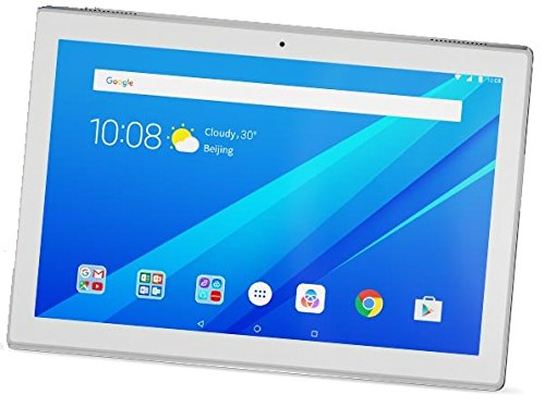 "Lenovo TAB4 10 - Tablet de 10.1"" IPS/HD (Procesador Qualcomm Snapdragon 425, RAM de 2 GB, memoria interna de 16GB, Android 7.0, Bluetooth 4.0 + Wifi) color blanco"