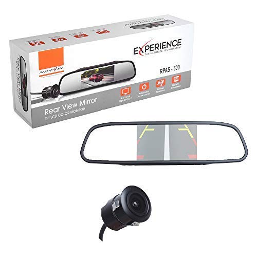 Nippon RPAS- 600 Rear View Mirror with Camera