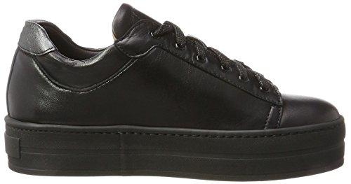 Franco Russo Napoli Ladies 2804-3 Sneaker Alta Nero (nero)