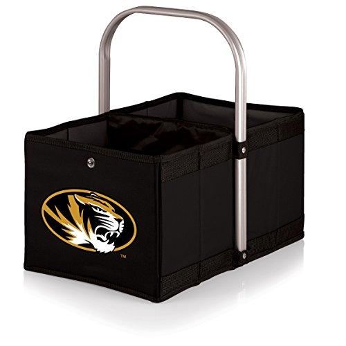 Picnic Time NCAA Urban Markt Korb, Herren Unisex Damen, 546-00-179-394-0, Black,University of Missouri Tigers