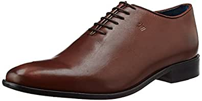 Louis Philippe Men's Oxford Tan Leather Formal Shoes - 6 UK/India (40 EU)
