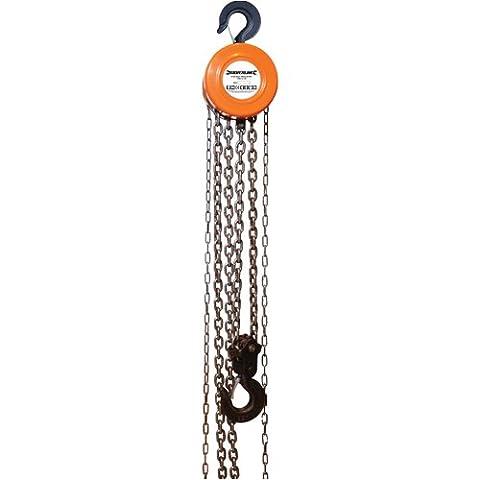 Silverline 675191 Chain Block Hoist 3 Tonne (3000kg) Capacity 3m Lifting Height