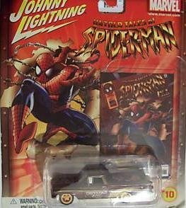Johnny Lightning Spider-Man '59 El Camino Diecast Car with Trading Card by Johnny Lightning (Cars Lightning Johnny Diecast)