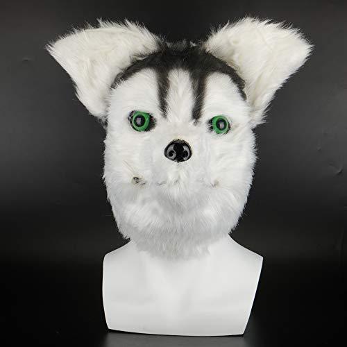 VAWAA Tier Masken Tier Themen Kostüme Schreckliche Kaninchen Maske Filz Kunststoff Cosplay Prop Halloween Zubehör Männer Frauen - Kaninchen Themen Kostüm