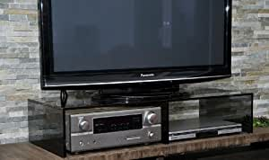 tv board tv aufsatz ponte 2 h hen 4 glassorten 100 cm. Black Bedroom Furniture Sets. Home Design Ideas