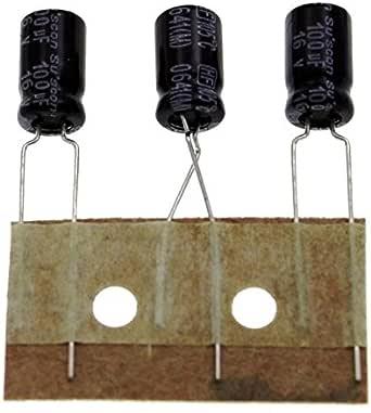 50x Elko Kondensator Radial 100µf 16v 105 C Hf016m101e12p50r 100uf Beleuchtung