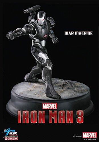 Dragon Action Heros Maßstab 1: 9Iron Man 3War Machine Rüstung Bulb Aufnahmen Marvel