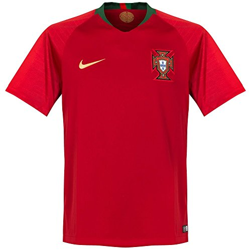 Nike Herren Portugal Trikot Home WM 2018 Teamtrikot, Gym Red, M