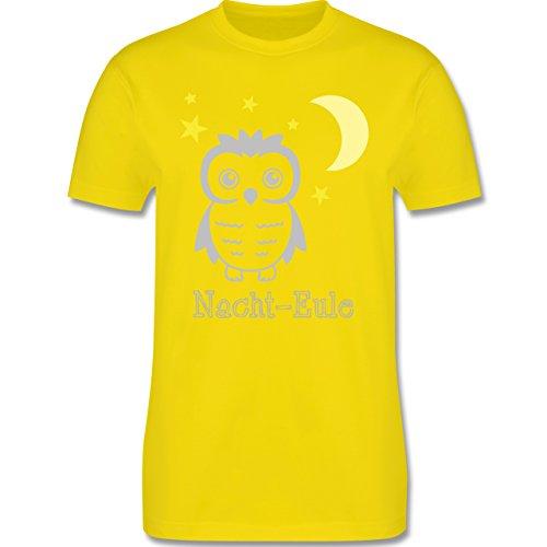 Eulen, Füchse & Co. - Nacht-Eule - Herren Premium T-Shirt