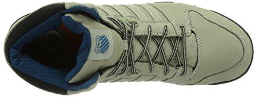 K-Swiss Si 18 Premier Hiker, Baskets mode homme Gris - Grau (London Fog/Melon/Moroccan Blue/056)