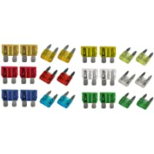 xtremeauto® CAR BLADE FUSE REPLACEMENT Standard Fuse Box Kit 5 10 15 20 25 30 AMP includes XtremeAuto Sticker