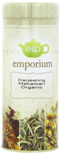 ESP Emporium Organic Black Tea, Darjeeling Makaibari, 3.53 Ounce