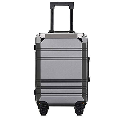 26-Zoll-Reisekoffer Hardshell Handgepäck 4 Spinner Wheels 360 ° drehbare Aluminiumlegierungsstange Robustes, langlebiges Hardshell-Leichtgewicht - Polycarbonate Carry On