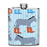 Our Stainless Steel 7 Oz Flasks Come Wrapped In The Latest Pop Culture Designs, And Fit Easily Into Pockets And Purses. Durable And Practical\r\nThe Pattern In On The Front And Back So Both Sides Are Printed On. Each Design Is Professionally Printed ...