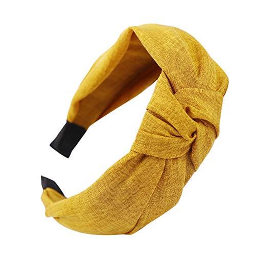 CANDLLY Stirnbänder Damen, Mode Damen Mode Bowknot Stirnband Frauen Haar Kopfband...