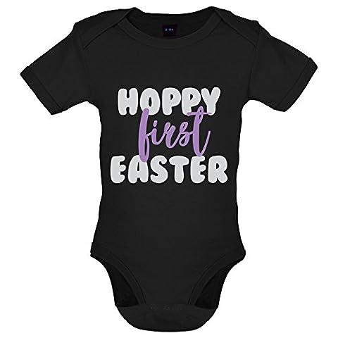Hoppy First Easter - Marrant Bébé-Body - Noir - 0 à 3 mois