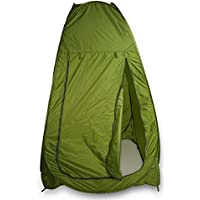 GOTOTOP Camping Toilet Tent,Super Portable Waterproof Instant Tent Pop Up Camping Travel Toilet Shower Changing Privacy Tent for Outdoor Beach Picnic
