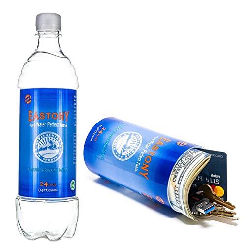 Diversion-Tresore AXZXC Wasserflasche Diversion-Tresor Geruchssichere Aufbewahrungstasche Wasserflasche Weihnachtsgeschenk Überraschungshochzeitsgeschenk -