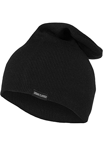 "Urban : ""Long Beanie"" taille: one size, couleurs: black ...TB307"