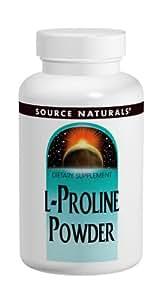 Source Naturals - L-Proline en poudre 113 gr