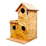 #6: Amijivdaya Sparrow Wooden House Water resistance