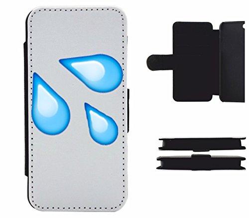 """Leder Flip Case Apple IPhone 6/ 6S """"Symbol für spritzenden Schweiß"""", der wohl schönste Smartphone Schutz aller Zeiten."""