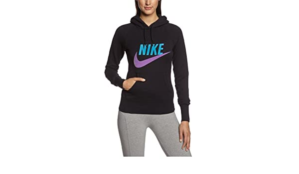Nike Sweat Shirt à Capuche hBR Limitless Exploded XS Noir