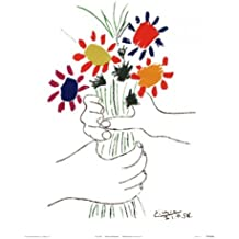 Hand With Bouquet Poster Print by Pablo Picasso (20 x 26)