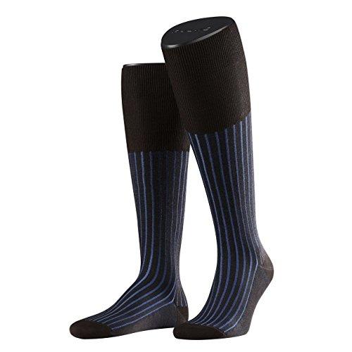 Preisvergleich Produktbild Falke City Herren Kniestrumpf Shadow 3er Pack, Größe:41/42;Farbe:Brown-Blue (5933)