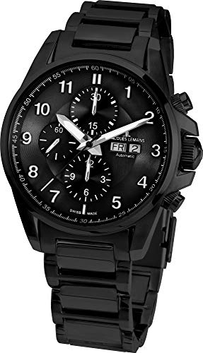 Jacques Lemans Liverpool 1-1750G Cronografo automatico uomo Swiss Made