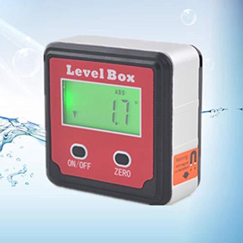 Digitale Inklinometer Electron Goniometer Magnetfuß Winkelsucher Bevel Box