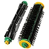 Tradico® Bristle Brush + Flexible Beater Brush For Irobot Roomba 500 Series 550 560 570 One Piece
