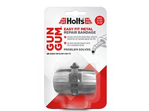 Pieza flexible de metal Gun Gum para reparación de tubo recto, silenciador de tubo de escape. De Holts