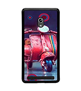 PrintVisa Plastic Multicolor Back Cover For Asus Zenfone 2 Laser ZE500KL (5 Inches)