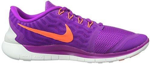 Nike Wmns Free 5.0 - Scarpe sportive Donna Viola (Purple)