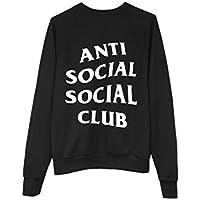 ANTI SOCIAL SOCIAL CLUB Sweater Pulli Pullover Hoody Bluse Sweatshirt schwarz AB