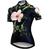 Weimostar 2018 Radtrikot Frauen Mountain Bike Trikot Shirts Kurzarm Rennrad Kleidung MTB Tops Sommer Sommer Kleidung Schmetterling weiß