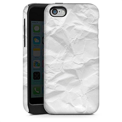 Apple iPhone 5s Housse Outdoor Étui militaire Coque Papier Feuille Motif Cas Tough brillant